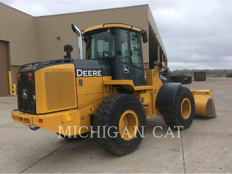 JOHN DEERE CARGADORES DE RUEDAS 524K equipment  photo 3