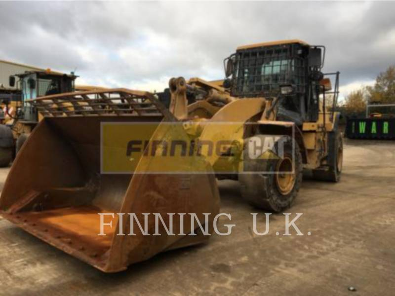 CATERPILLAR WHEEL LOADERS/INTEGRATED TOOLCARRIERS 950H WASTE equipment  photo 2