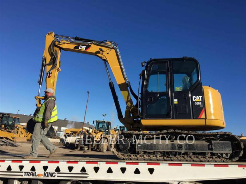 CATERPILLAR TRACK EXCAVATORS 308E2 TH equipment  photo 5