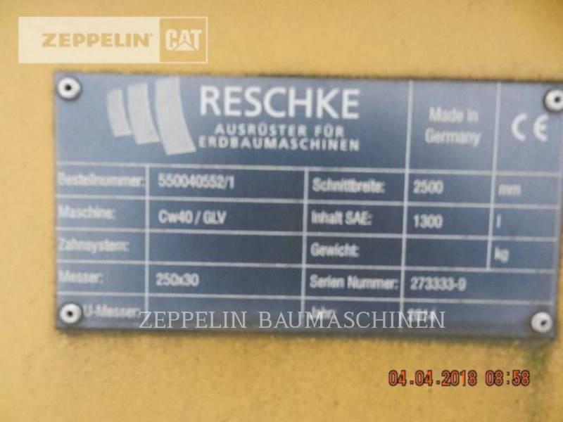 RESCHKE TRANCHEUSES GLV2500 CW40 equipment  photo 5