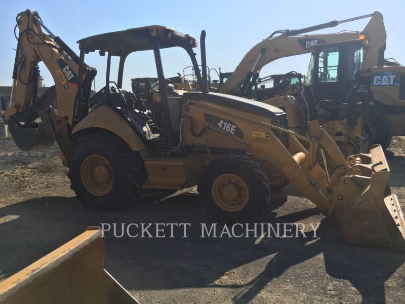 CATERPILLAR RETROESCAVADEIRAS 416E 4 equipment  photo 4