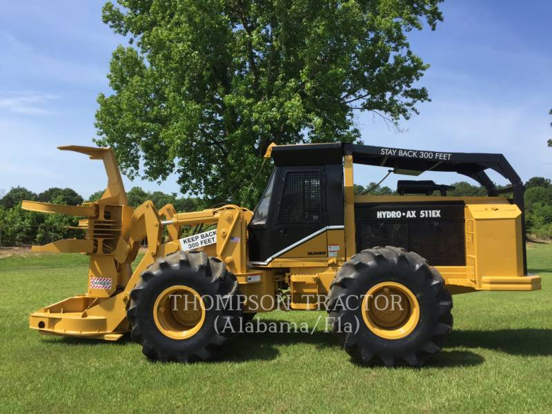 HYDRO-AX FORESTRY - FELLER BUNCHERS - WHEEL 511EX equipment  photo 3
