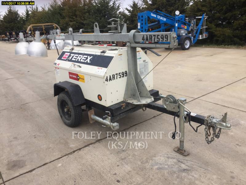 TEREX CORPORATION LIGHT TOWER RL4 equipment  photo 1