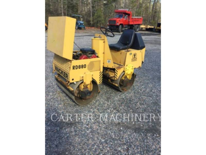 WACKER CORPORATION COMPACTADORES ROLLER equipment  photo 2