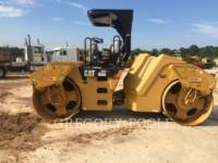 CATERPILLAR VIBRATORY DOUBLE DRUM ASPHALT CB-54 equipment  photo 7