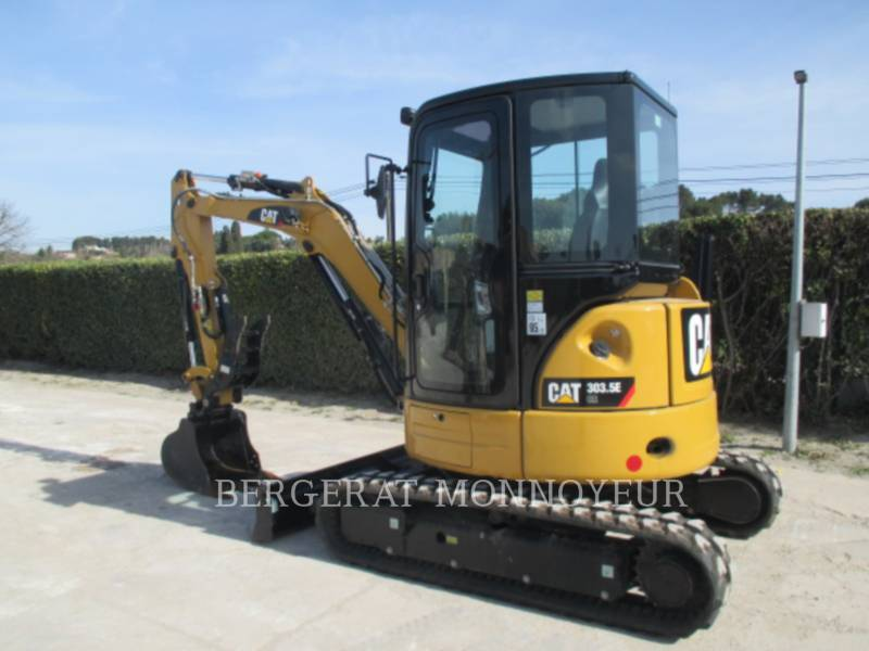 CATERPILLAR PELLES SUR CHAINES 303.5E CR equipment  photo 2