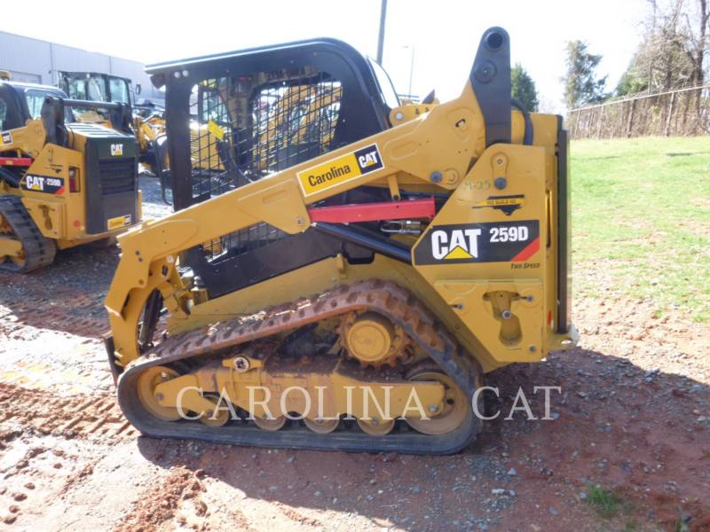 CATERPILLAR KETTENLADER 259D equipment  photo 2