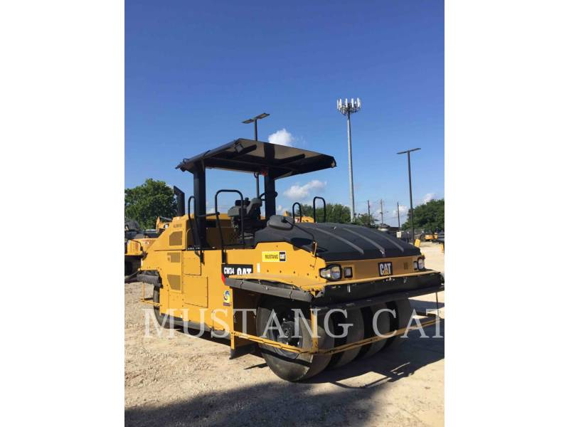 CATERPILLAR PNEUMATIC TIRED COMPACTORS CW34 equipment  photo 1
