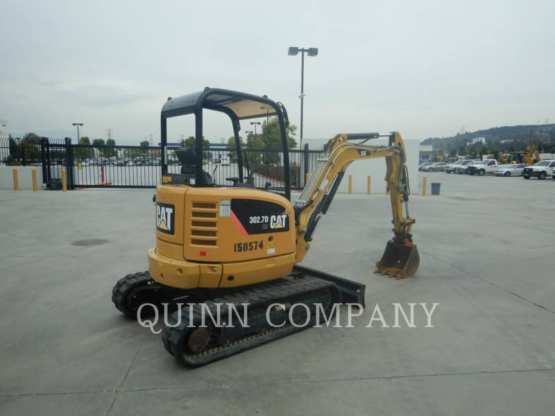 CATERPILLAR KETTEN-HYDRAULIKBAGGER 302.7DCR equipment  photo 4