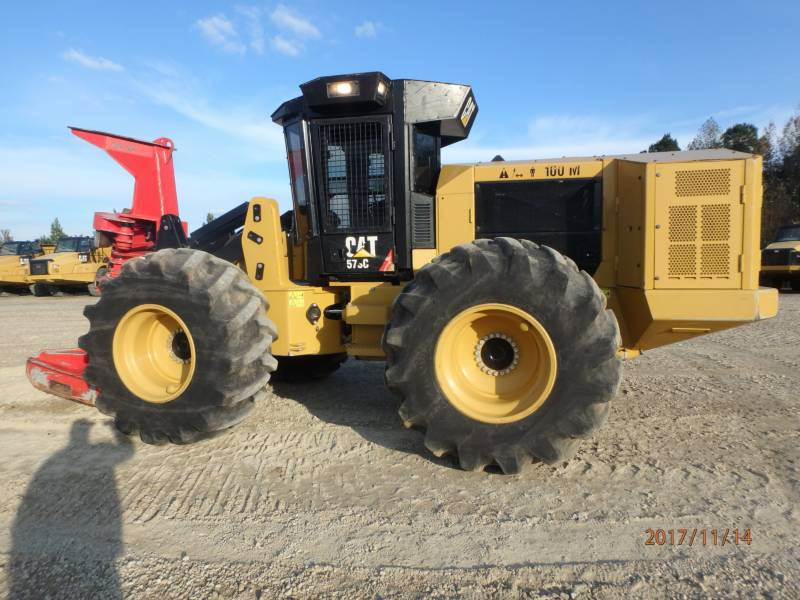 CATERPILLAR FORESTRY - FELLER BUNCHERS - WHEEL 573C equipment  photo 2