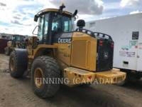 JOHN DEERE ÎNCĂRCĂTOARE PE ROŢI/PORTSCULE INTEGRATE 624K equipment  photo 3