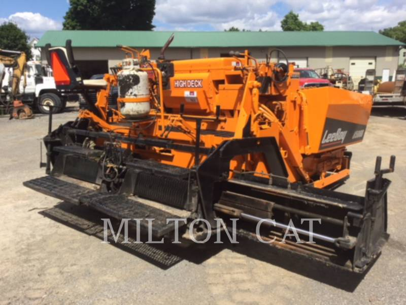 LEE-BOY ASPHALT PAVERS 8500 equipment  photo 3