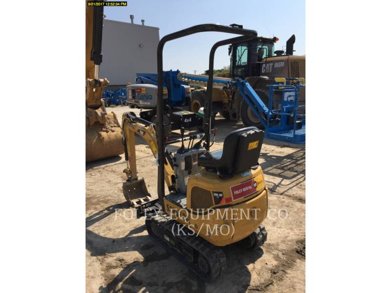 CATERPILLAR TRACK EXCAVATORS 300.9DSO equipment  photo 3