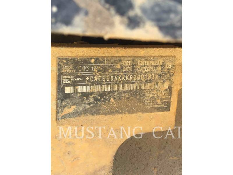 CATERPILLAR TRACTORES DE CADENAS D4K2LGP equipment  photo 5