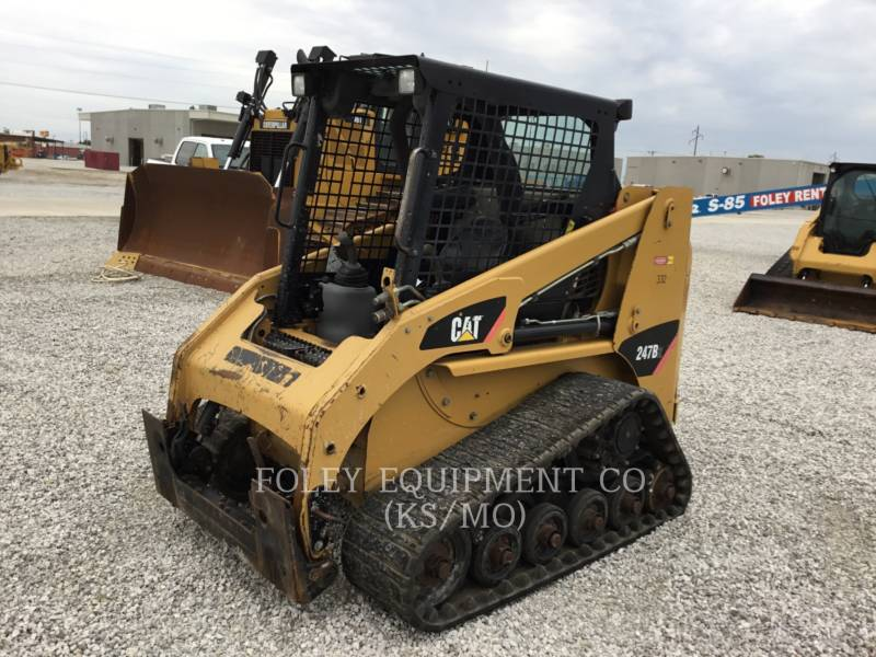 CATERPILLAR MINICARREGADEIRAS 247B2STD1O equipment  photo 2
