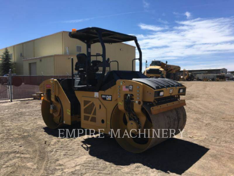 CATERPILLAR VIBRATORY DOUBLE DRUM ASPHALT CB10 equipment  photo 3