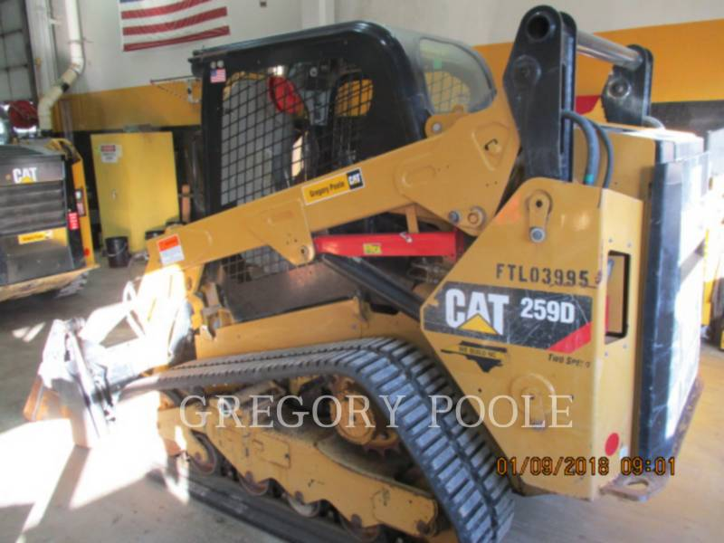CATERPILLAR CARREGADEIRAS TODO TERRENO 259D N equipment  photo 5