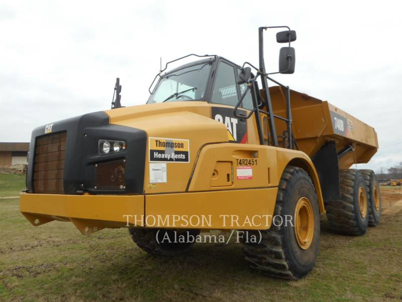 CATERPILLAR ARTICULATED TRUCKS 740B TGATE equipment  photo 1