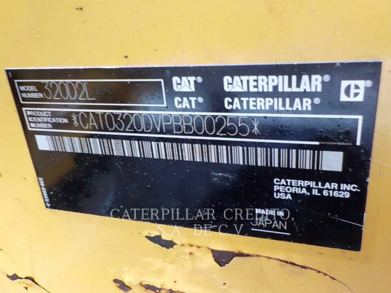CATERPILLAR EXCAVADORAS DE CADENAS 320D2L equipment  photo 18