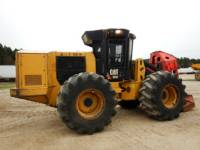 CATERPILLAR FORESTRY - FELLER BUNCHERS - WHEEL 563C equipment  photo 5