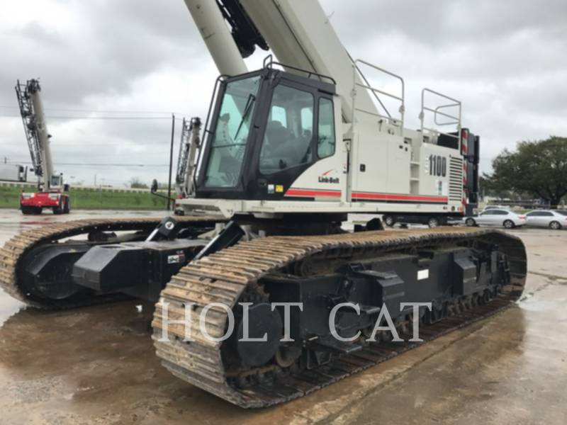 LINK-BELT CONST. CRANES TCC 1100 equipment  photo 1