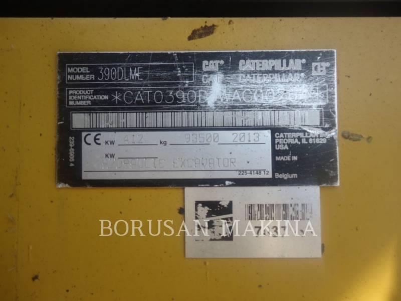 CATERPILLAR EXCAVADORAS DE CADENAS 390DL equipment  photo 9