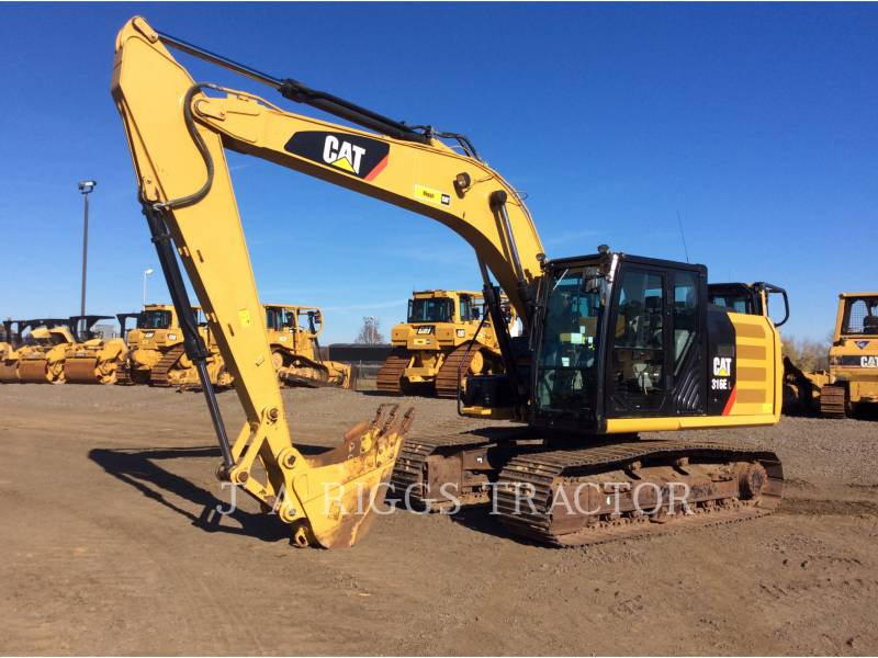 CATERPILLAR PELLES SUR CHAINES 316E 10 equipment  photo 1