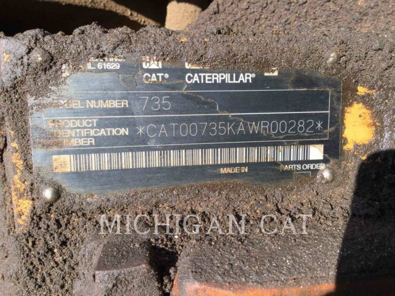 CATERPILLAR ARTICULATED TRUCKS 735 T equipment  photo 24