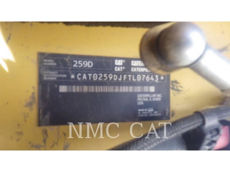 CATERPILLAR CARGADORES MULTITERRENO 259D equipment  photo 6