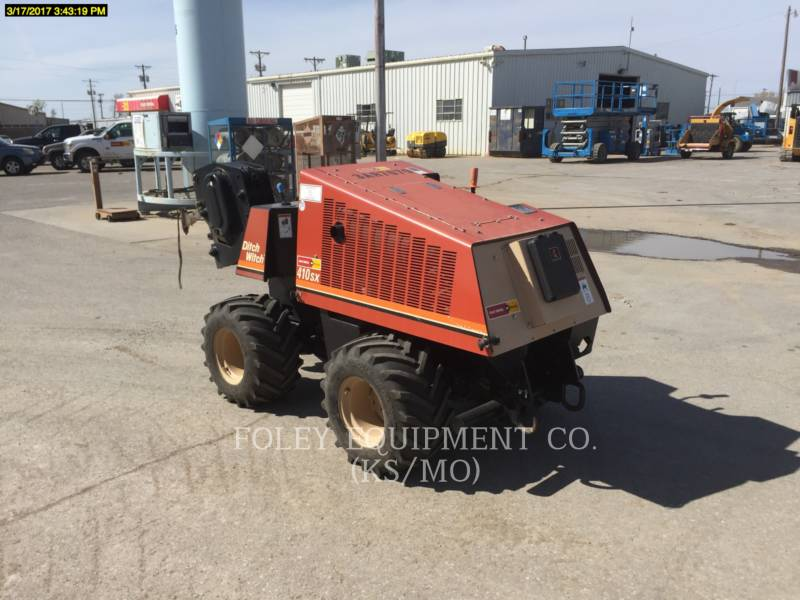 DITCH WITCH (CHARLES MACHINE WORKS) TRENCHERS 410SX equipment  photo 1