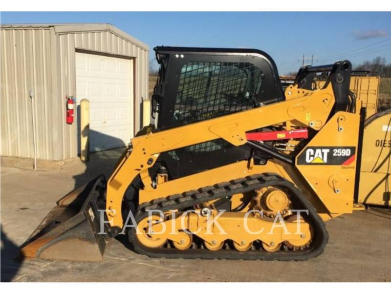 CATERPILLAR CHARGEURS TOUT TERRAIN 259D C3H2 equipment  photo 1