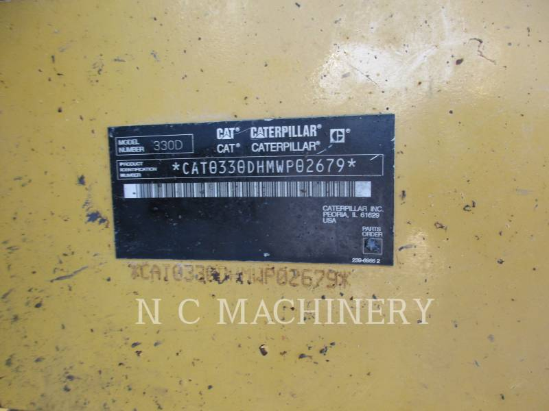 CATERPILLAR KETTEN-HYDRAULIKBAGGER 330D L equipment  photo 8