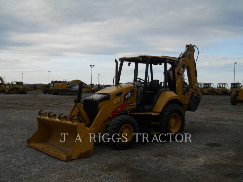 CATERPILLAR BAGGERLADER 415F 4 equipment  photo 1