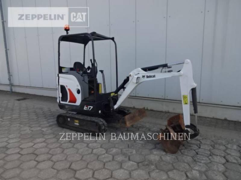BOBCAT TRACK EXCAVATORS E17 equipment  photo 7