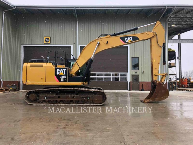CATERPILLAR KETTEN-HYDRAULIKBAGGER 329E equipment  photo 3