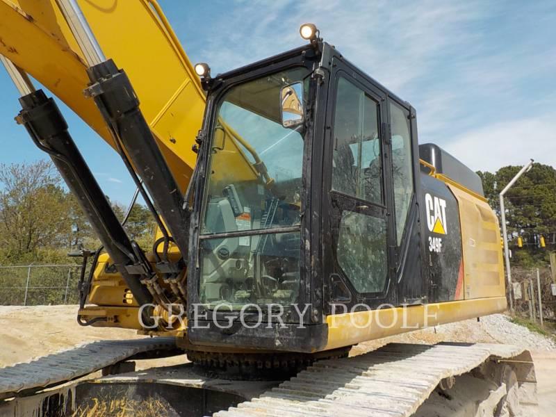 CATERPILLAR TRACK EXCAVATORS 349F L equipment  photo 2