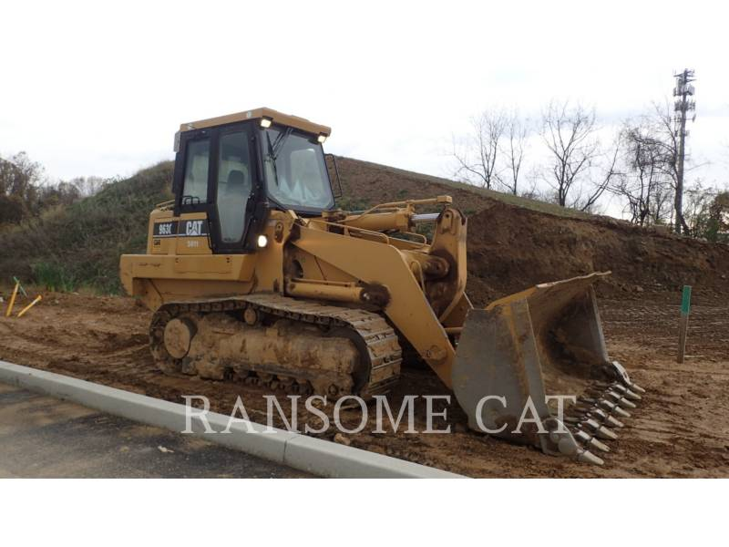 CATERPILLAR TRACK LOADERS 963CII equipment  photo 5