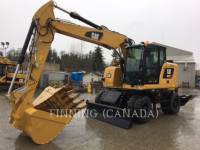 Equipment photo Caterpillar M317F EXCAVATOARE PE ROŢI 1