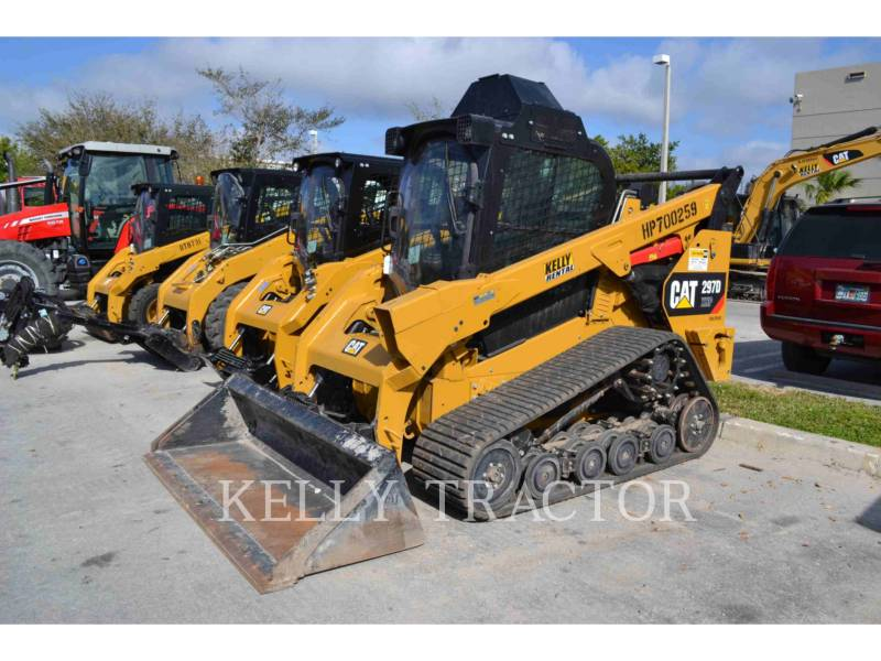 CATERPILLAR MULTI TERRAIN LOADERS 297DXHP equipment  photo 1