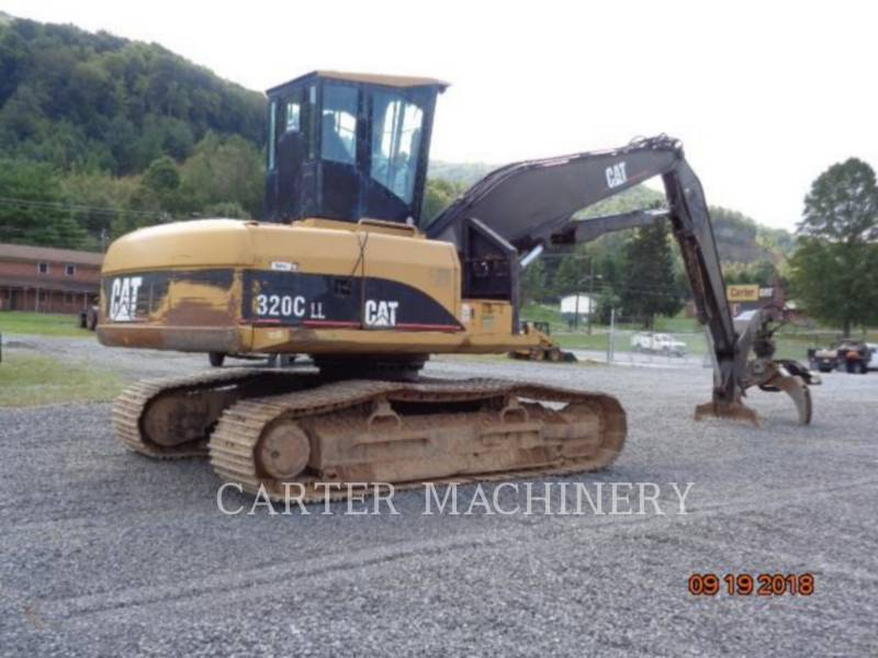 CATERPILLAR KETTEN-HYDRAULIKBAGGER 320CFMHW equipment  photo 4