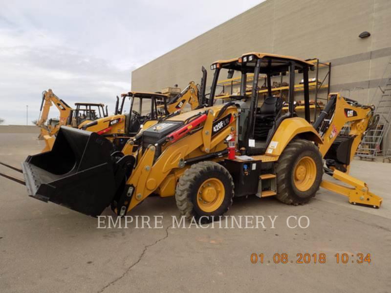 CATERPILLAR BACKHOE LOADERS 420F2 HRC equipment  photo 4