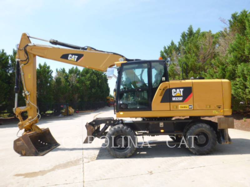 CATERPILLAR WHEEL EXCAVATORS M320F equipment  photo 2