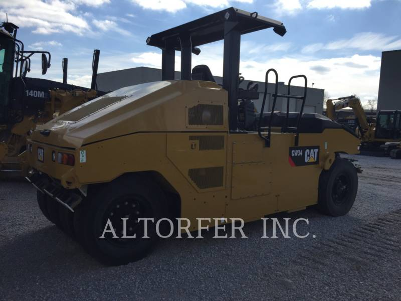 CATERPILLAR COMPACTADORES CON RUEDAS DE NEUMÁTICOS CW34 equipment  photo 4