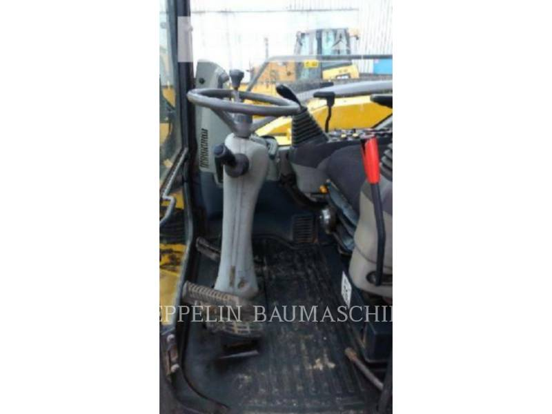 KOMATSU LTD. WHEEL EXCAVATORS PW98MR equipment  photo 9