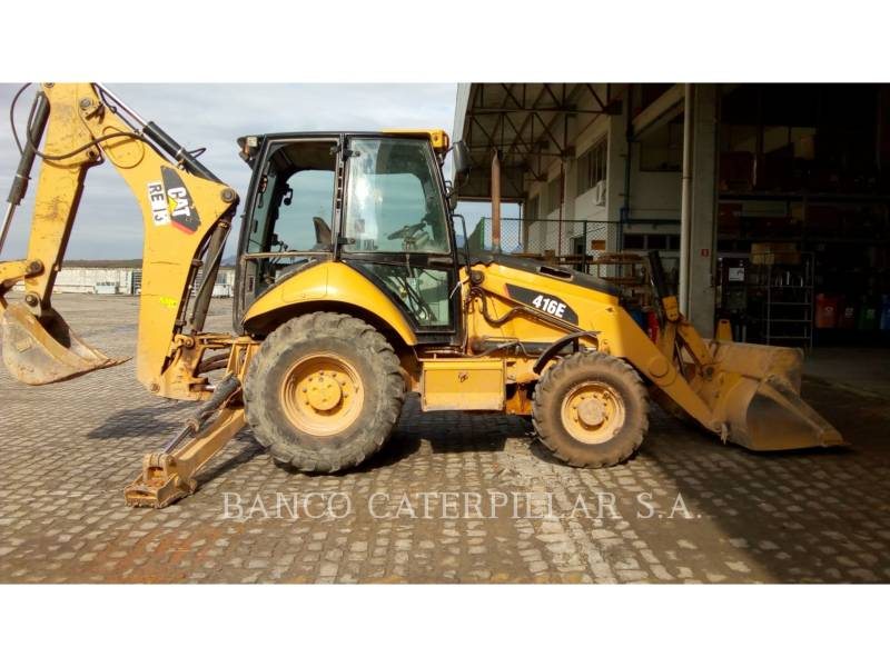 CAT TRADE-IN BAGGERLADER 416E equipment  photo 4