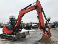 Equipment photo KUBOTA CORPORATION KX080-4 PELLES SUR CHAINES 1