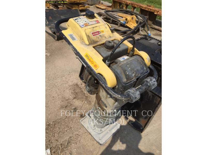 WACKER CORPORATION COMPACTORS BS602I equipment  photo 2