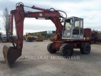 Equipment photo POCLAIN P61 WHEEL EXCAVATORS 1