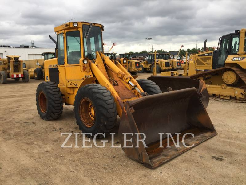 DEERE & CO. WHEEL LOADERS/INTEGRATED TOOLCARRIERS 544C equipment  photo 1