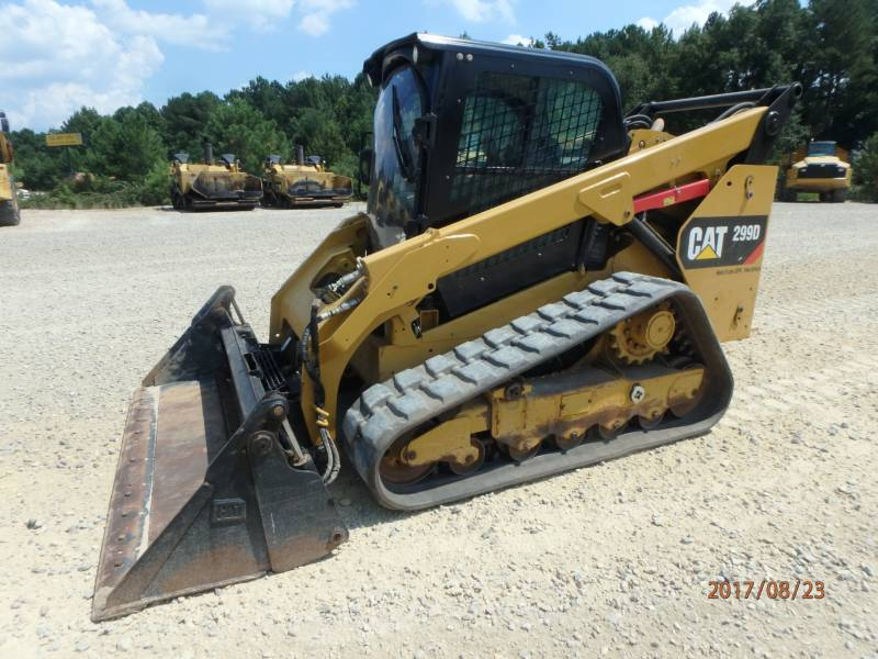 Caterpillar ÎNCĂRCĂTOARE PENTRU TEREN ACCIDENTAT 299D equipment  photo 5
